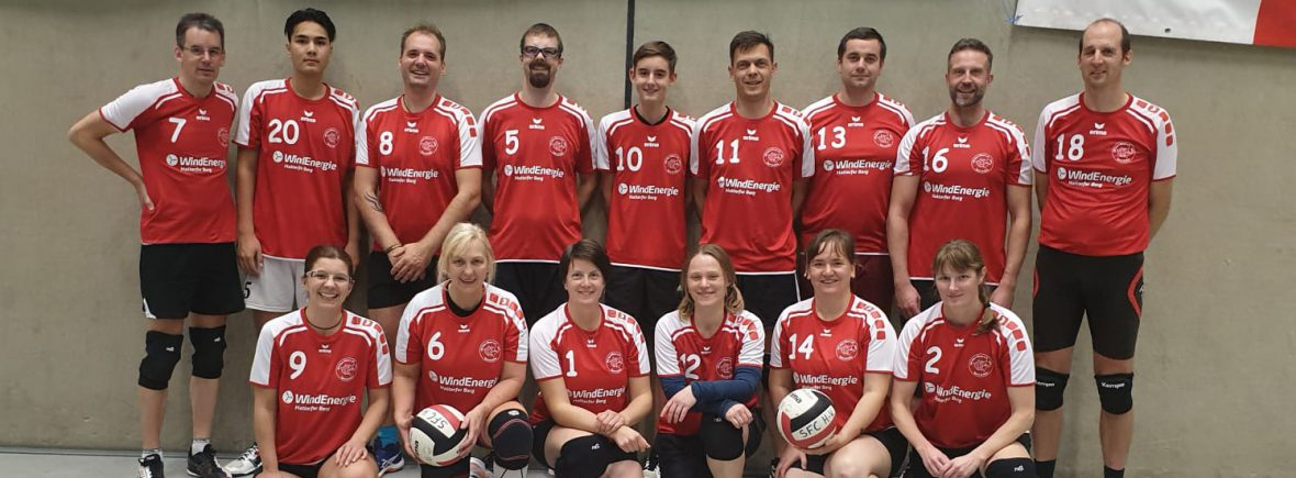 Volleyballgruppe